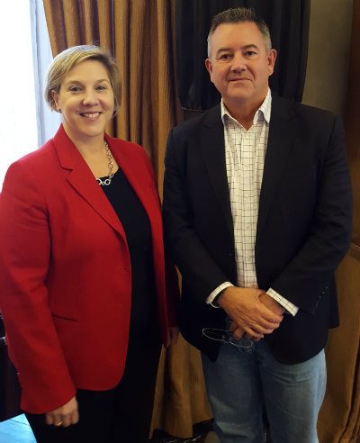Telstra's Robyn Denholm (left) and Mike Wright face a busy 2018 ahead of them as the Aussie operator pushes towards virtualization in preparation for 5G services.