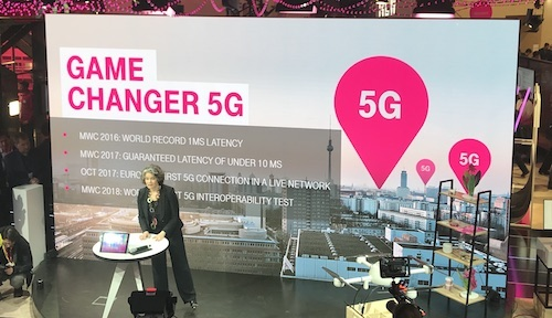 Claudia Nemat, Deutsche Telekom's board member for technology and innovation, is planning commercial 5G trials this year.