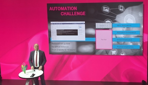Jean-Claude Geha, the chairman of Deutsche Telekom's pan-net subsidiary, gives suppliers some tough homework assignments.