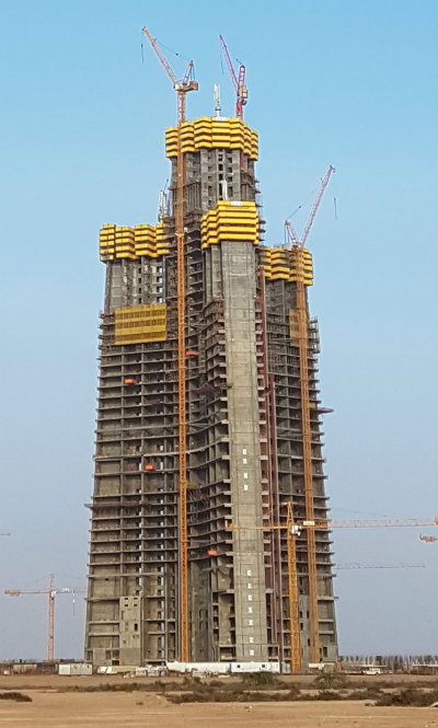 Industry vertical: Jeddah Tower is due to be completed in 2020.
