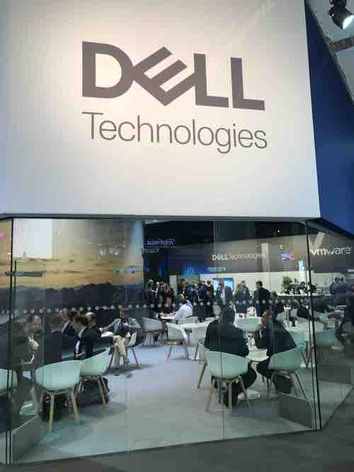 Dell at Mobile World Congress in Barcelona last month.