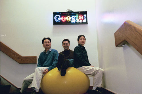 Random Googlers at Google. Photo by Google.
