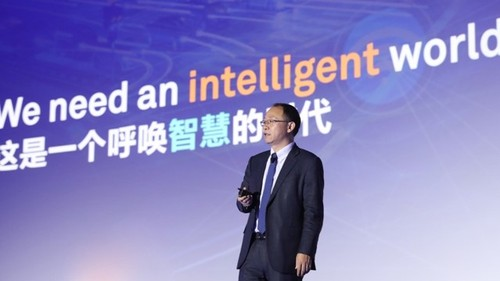 David Wang, Huawei's President of Products and Solutions: 'The All-Intelligent Network will not simply automatically follow programmed static policies to improve network performance, it will dynamically learn new policies to achieve full autonomy and deliver outstanding reliability and connectivity.'