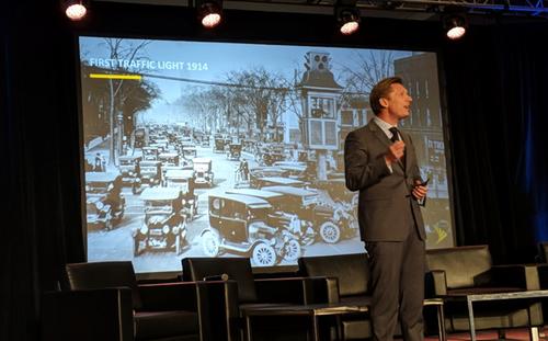 Sprint's Ivo Rook talks smart cities.