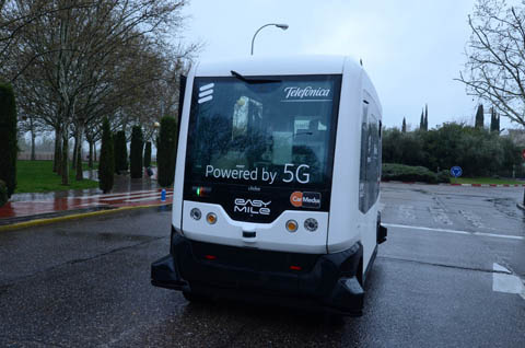 Driven by robots, powered by 5G.