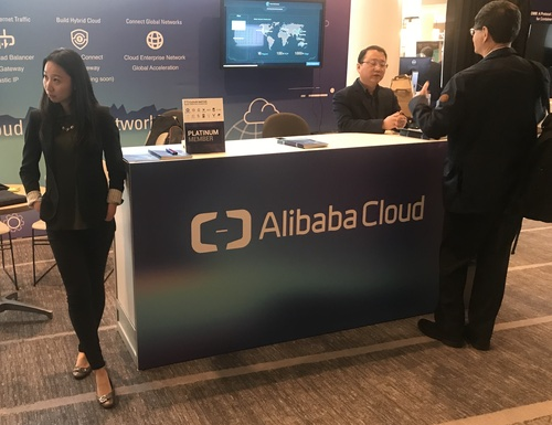 Alibaba at the Open Networking Summit in Los Angeles last month.