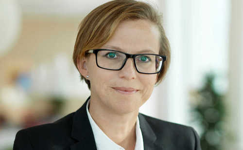 Helena Norrman, Ericsson's chief marketing officer, hints that a return to profitability is right around the corner.