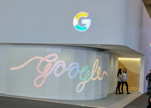 Google at Mobile World Congress 2017.