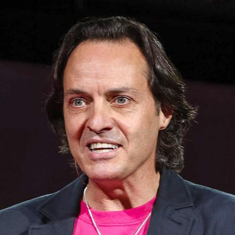 John Legere, the CEO of T-Mobile US, would lead a mobile operator serving 127 million customers should authorities approve a merger with Sprint.