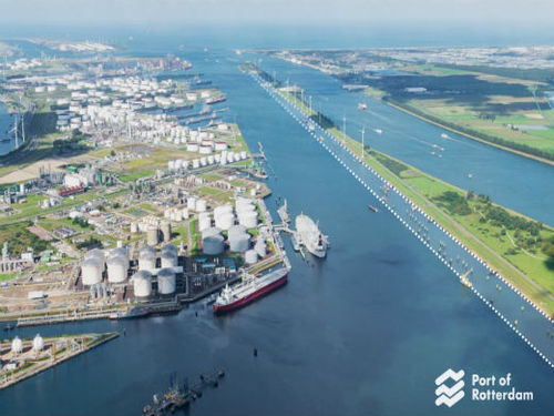 The Port of Rotterdam is the largest port in Europe.