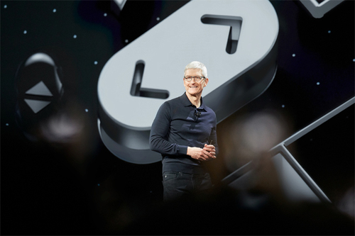 Tim Cook kicks off the Apple World Wide Developer Conference on Monday.