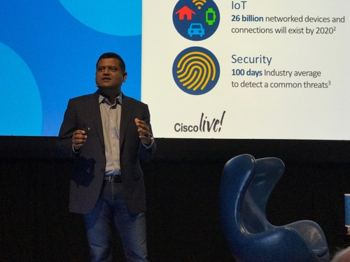 Cisco's Gupta: 'Modern networks are oxygen for digital business.'