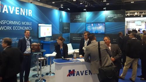 Mavenir was busy on the 5G World Summit show floor.