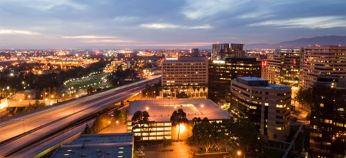 San Jose is home to 1.025 million as of 2016, according to the US Census Bureau.  (Image source: AT&T)