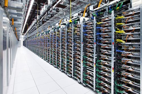 A Google data center.