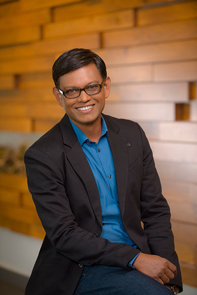 In moving to Juniper at CTO, Bikash Koley also acquired a sport coat, something he never wore as a Google senior network architect.