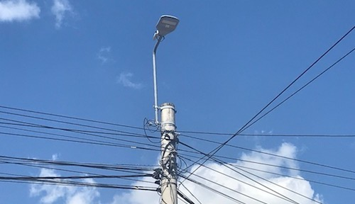 About 100 street lights now include LoRa modules so that lighting systems can be monitored in real time.