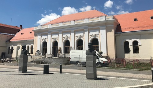 Currently under renovation, this building in Alba Iulia is where the union between Transylvania and the rest of Romania was officially proclaimed in 1918.