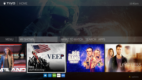 TDS's new pay-TV offering will run a new cloud-based, IPTV platform from Tivo that also features a new user interface.