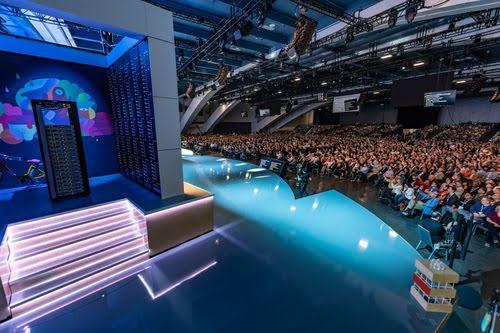 Google Next 2018 keynote stage. (Source: Google)