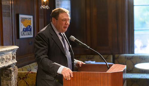Russian oligarch Mikhail Fridman sits on the board of VEON as the chairman of LetterOne, the operator's biggest shareholder.