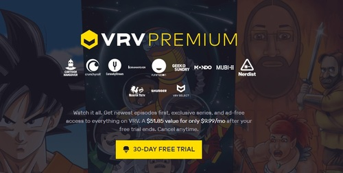 As an SVoD aggregation service, VRV hawks an array of OTT services on a standalone basis and in a deeply discounted bundle.