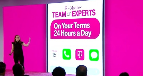 Callie Field, T-Mobile's EVP of customer care, sheds more light on the company's Team of Experts program at today's Un-carrier Next event.