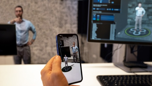 Jaunt claims that its updated platform makes the production and distribution of volumetric AR content portable and much more affordable than it is today... and take advantage of the AR rendering capabilities of today's iOS and Android smartphones.