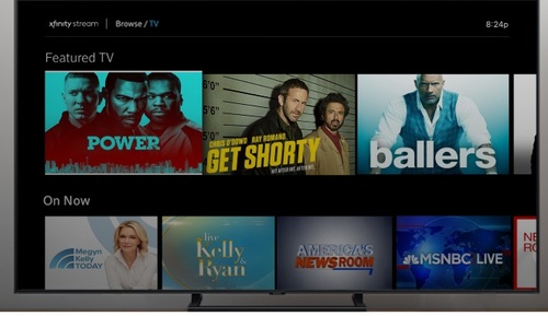 Comcast's Xfinity Stream app for Samsung TVs supports many but not all features and services that customers get on a fully-fledged X1 box supplied by the MSO.