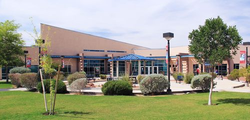 One of Mohave Community College's five campuses, this one in Bullhead City, Arizona.