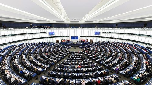 The European Parliament, 2014. Photo by DAVID ILIFF. License: CC-BY-SA 3.0