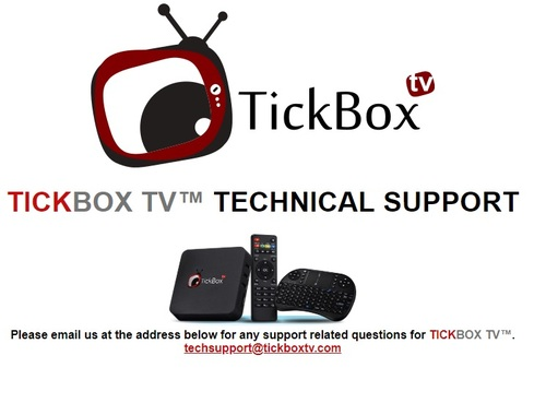 As of Tuesday, Sept. 11, 2018, TickBox's presence on the web is limited to an electronic placard with details on how visitors can reach technical support.