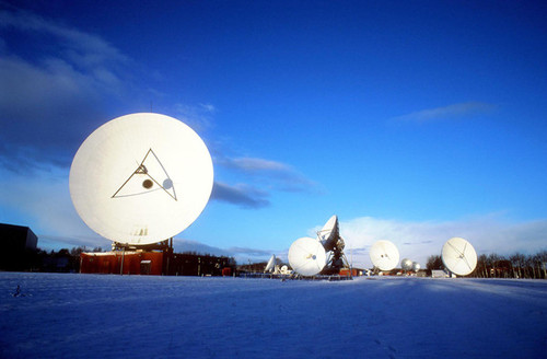BT's Madley satellite earth station: 40 years old and still dishy