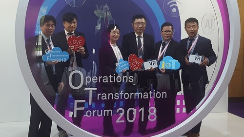 Many key industry topics, including IoT, virtual reality and cloud platform innovation, were covered during OTF 2018, which offered picture opportunities as well as learning opportunities.