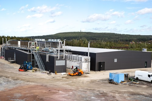 EcoDataCenter's new facility in Falun: It ain't pretty, but it is carbon-positive.