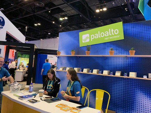 Palo Alto Networks at the Microsoft Ignite conference last month.