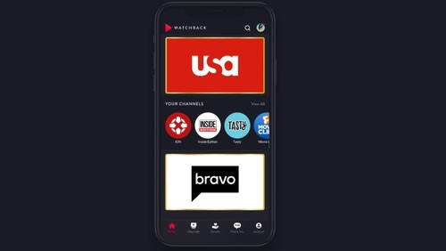 WatchBack features shows and clips from NBCU's programming stable as well as from dozens of third-party partners.
