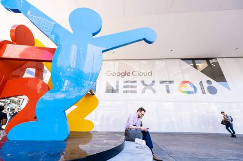 At this summer's Google Next cloud conference.