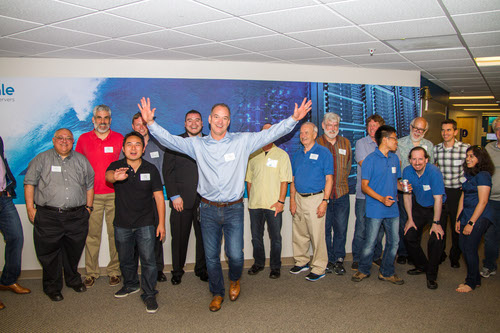 Gary Smerdon, TidalScale president and CEO: 'Your servers will scale thiiiiiiiiis high!'