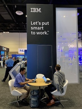 IBM at Microsoft Ignite last month.