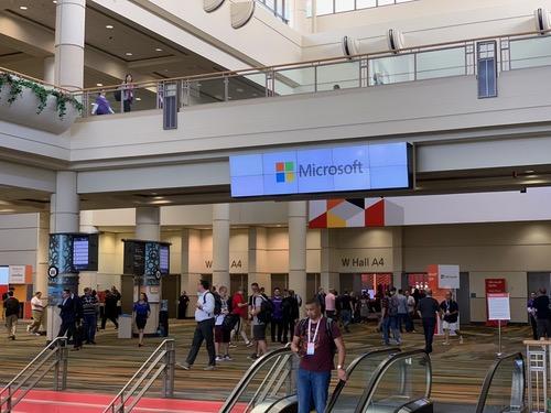 Microsoft Ignite conference last month.