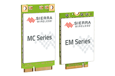 Sierra Wireless EM and MC modules.