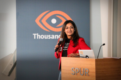 ThousandEyes' Archana Kesavan seems to have only two eyes.