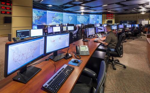 CenturyLink operations center in Broomfield, Colorado. Photo by CenturyLink.