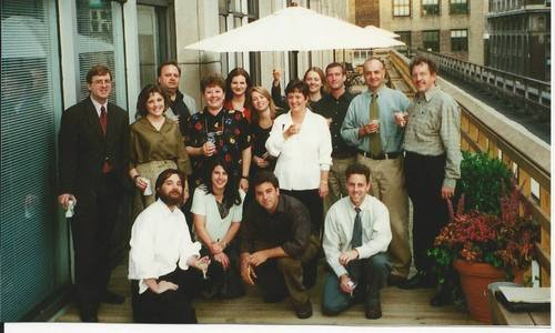In the go-go 90s, launching a magazine like The Net Economy meant roof parties for the whole staff, here on the infamous Ziff-Davis Media deck.