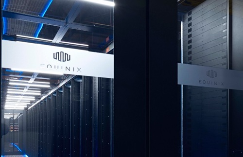 Equinix is one of Blade's key data center partners. Other tech partners identified by Blade include Microsoft, Intel, Nvidia and AMD. (Source: Blade)