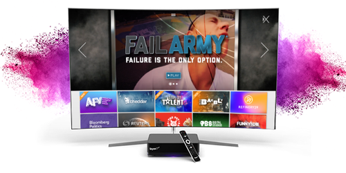 Via a deal struck before getting acquired by T-Mobile, Layer3 TV has integrated Xumo's lineup of OTT-delivered video channels on its in-home set-top box platform.
