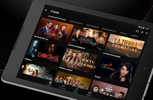 Univision Now is offered on several platforms, including Android tablets (pictured), Android smartphones, iOS devices, Roku players and Roku TVs, Apple TV boxes, and web browsers, and support for Chromecast streaming adapters.
