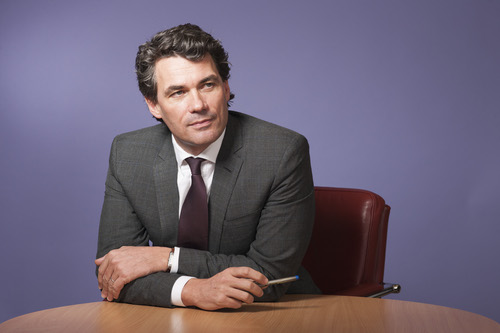 Former BT CEO Gavin Patterson: His hair contributed to the UK national economy.