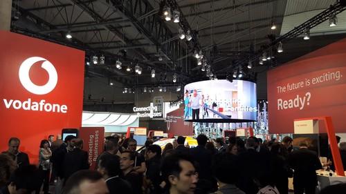 沃达丰在MWC展会上与以往一样突出。